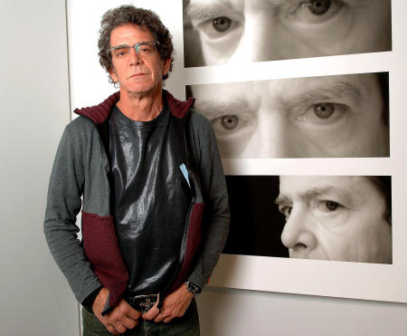 Lou Reed by Michael Sofronski Photography