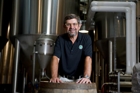 Steve Hindy Brooklyn Brewery by Michael Sofronski Photography
